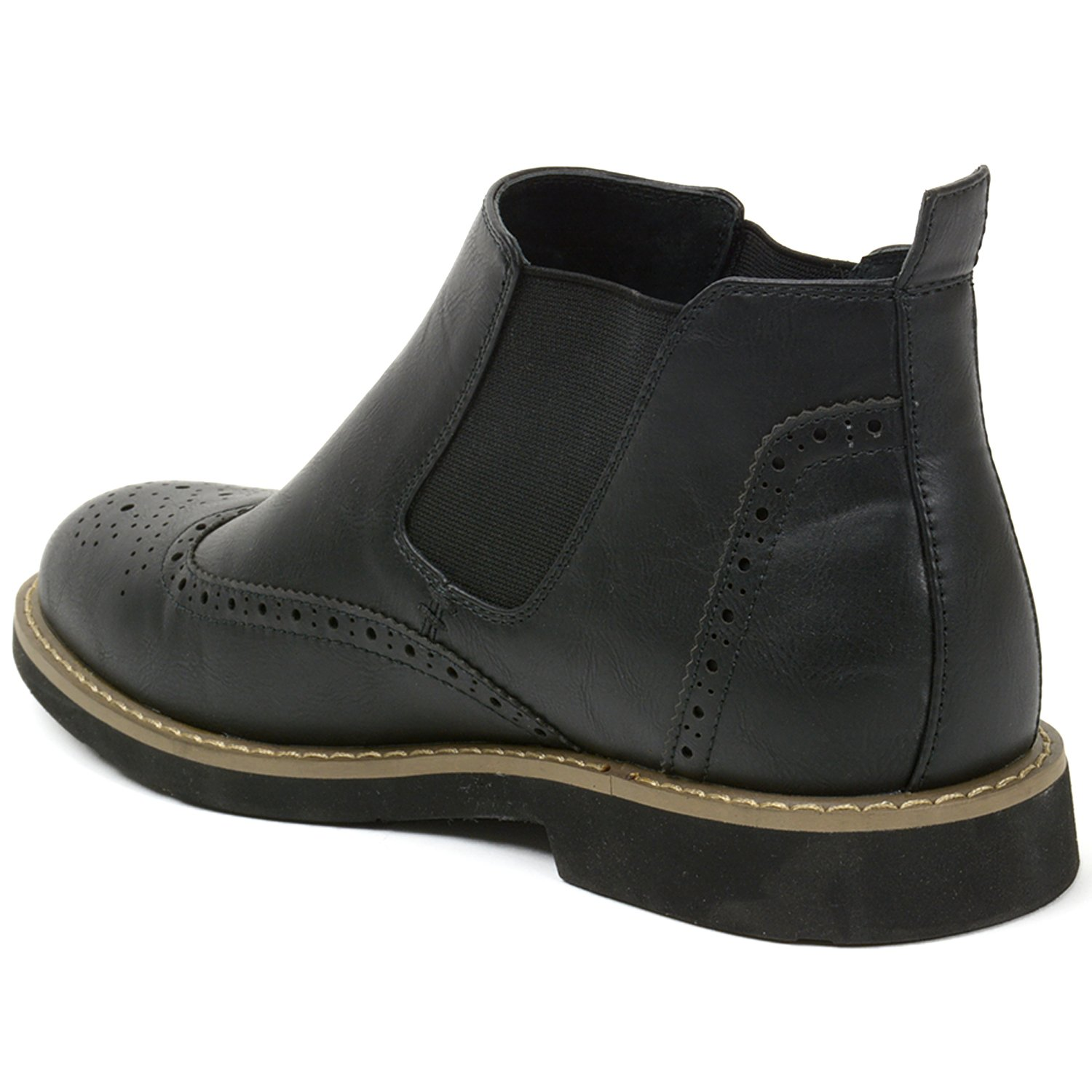 Alpine swiss men's dress shoes and boots