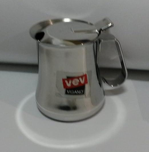 Gama Quartz Vev Vigano - Cafetera de 4 tazas (35 cl, acero inoxidable 18/10): Amazon.es: Hogar