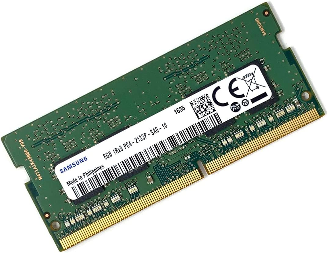 Samsung M471A1K43BB0-CPB 8GB PC4-17000 DDR4-2133MHz Non-ECC Unbuffered CL15 260-Pin SoDimm 1.2V Single Rank Memory Module - OEM