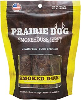 product image for Prairie Dog Pet Products Smokehouse Jerky, 15 Oz., Smoked Duck