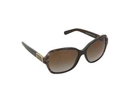 f32882bfffb4 Image Unavailable. Image not available for. Colour: Michael Kors Women's  Gradient Cuiaba MK6013-3019T5-57 Black Butterfly Sunglasses