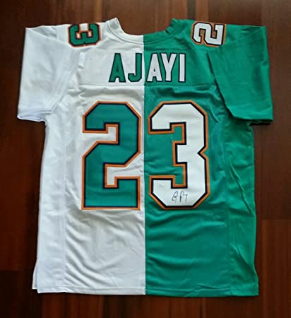 45a0febc Jay Ajayi Autographed Signed Jersey Miami Dolphins JSA at Amazon's ...