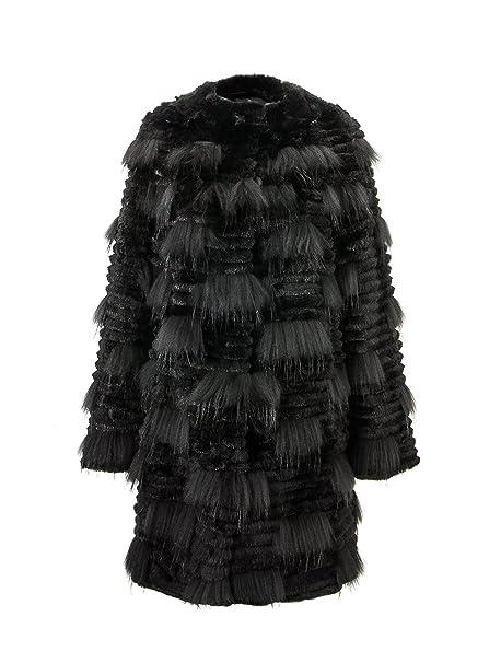 Zerimar Abrigo Largo de Pelo | Abrigo Mujer | Chaqueta de Pelo | Abrigo de Mujer de Pelo | Abrigo Elegante Mujer: Amazon.es: Ropa y accesorios