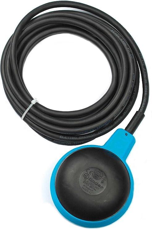 Finder 72A100000501 - Regulador de nivel con contrapeso 1 contacto 20 A IP68 color azul