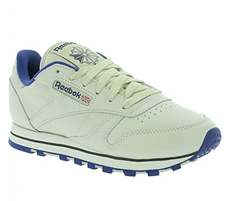 Ecru Schuhe Women 38 Reebok Classic Leather Amazon es Reebok aOBxngO