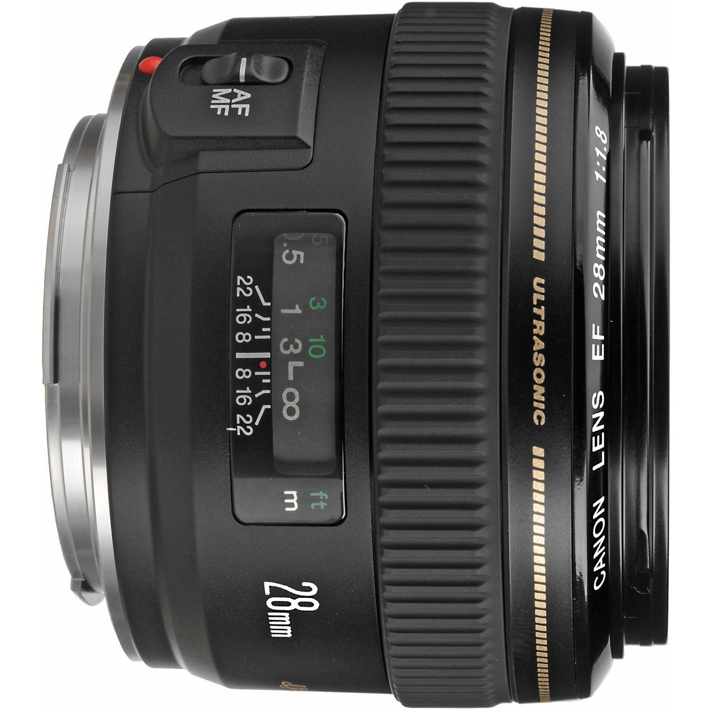 4da1ecfe05e84 Amazon.com   Canon EF 28mm f 1.8 USM Wide Angle Lens for Canon SLR Cameras    Camera Lenses   Camera   Photo