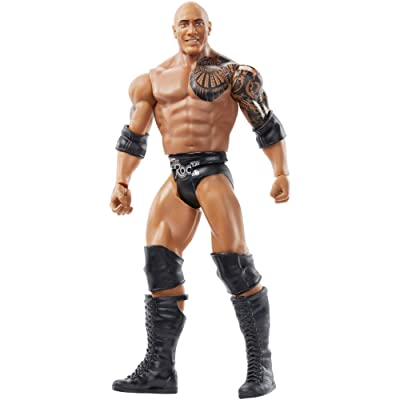 WWE Wrestlemania 6-inch (15.24 cm) Action Figure, The Rock, Multi: Toys & Games