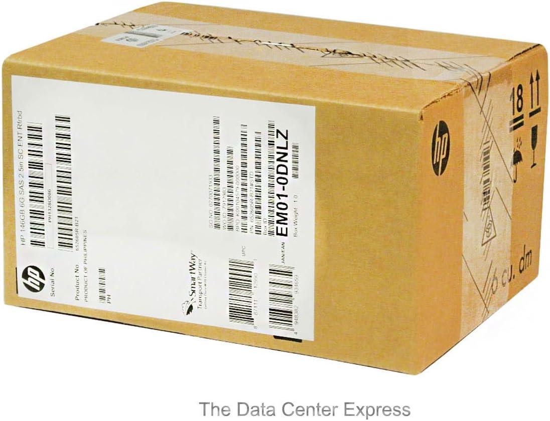 HP 146GB 6G SAS 15K SFF SC Enterprise HDD 652605-B21 653950-001