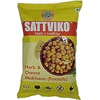 Sattviko Foxnuts - Herb & Cheese Makhane, 24g