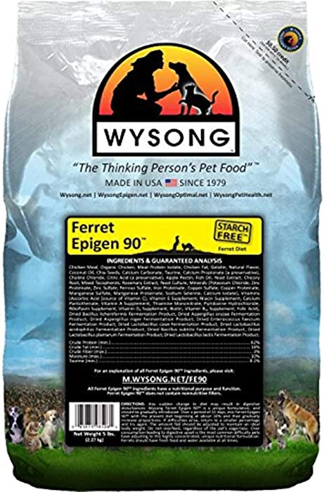 Wysong Ferret Epigen 90 - Starch Free Dry Natural Food for Ferrets