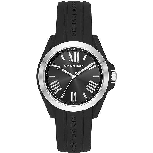 0625a92f0ddfc Michael Kors Reloj Analógico para Mujer de Cuarzo con Correa en Silicona  MK2729  Amazon.es  Relojes