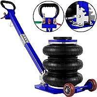 VEVOR 5T Pneumatisk domkraft, 5000 kg, uppblåsbar domkraft, 23 x 42 x 80 cm domkraft, luftkudde, lyftkapacitet…