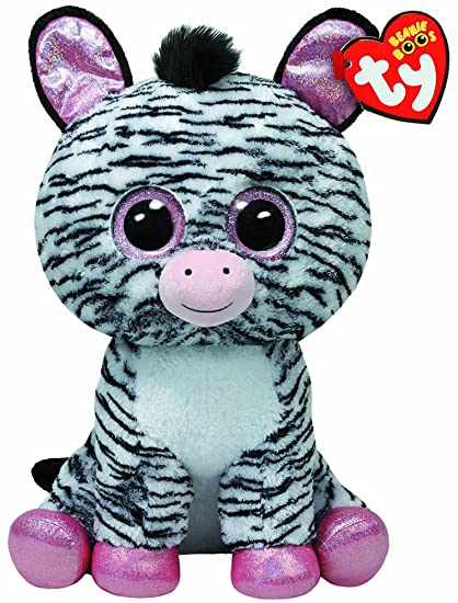 27011fbeb93 Image Unavailable. Image not available for. Color  Ty Beanie Boos Izzy - Zebra  Large (Justice Exclusive)