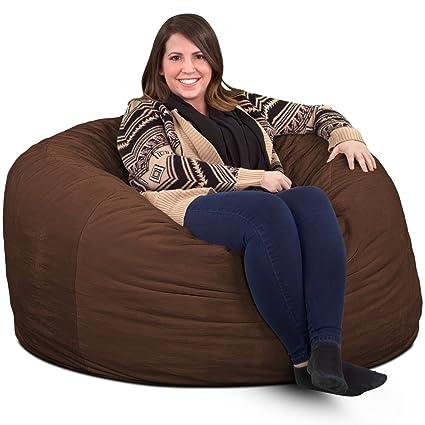 Amazon Com Ultimate Sack 4000 Bean Bag Chair Giant Foam Filled