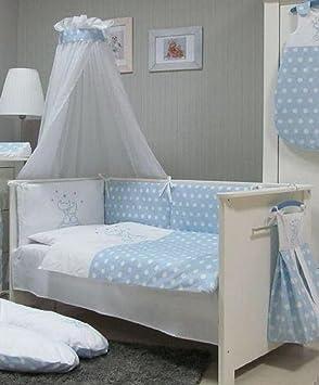 Babymajawelt Baby Bettwäsche Set Bett Set 4 Tlg Voile Fürs