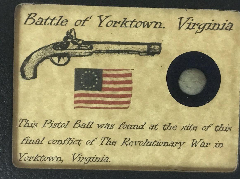 Amazon com : Authentic Revolutionary War Pistol Ball from