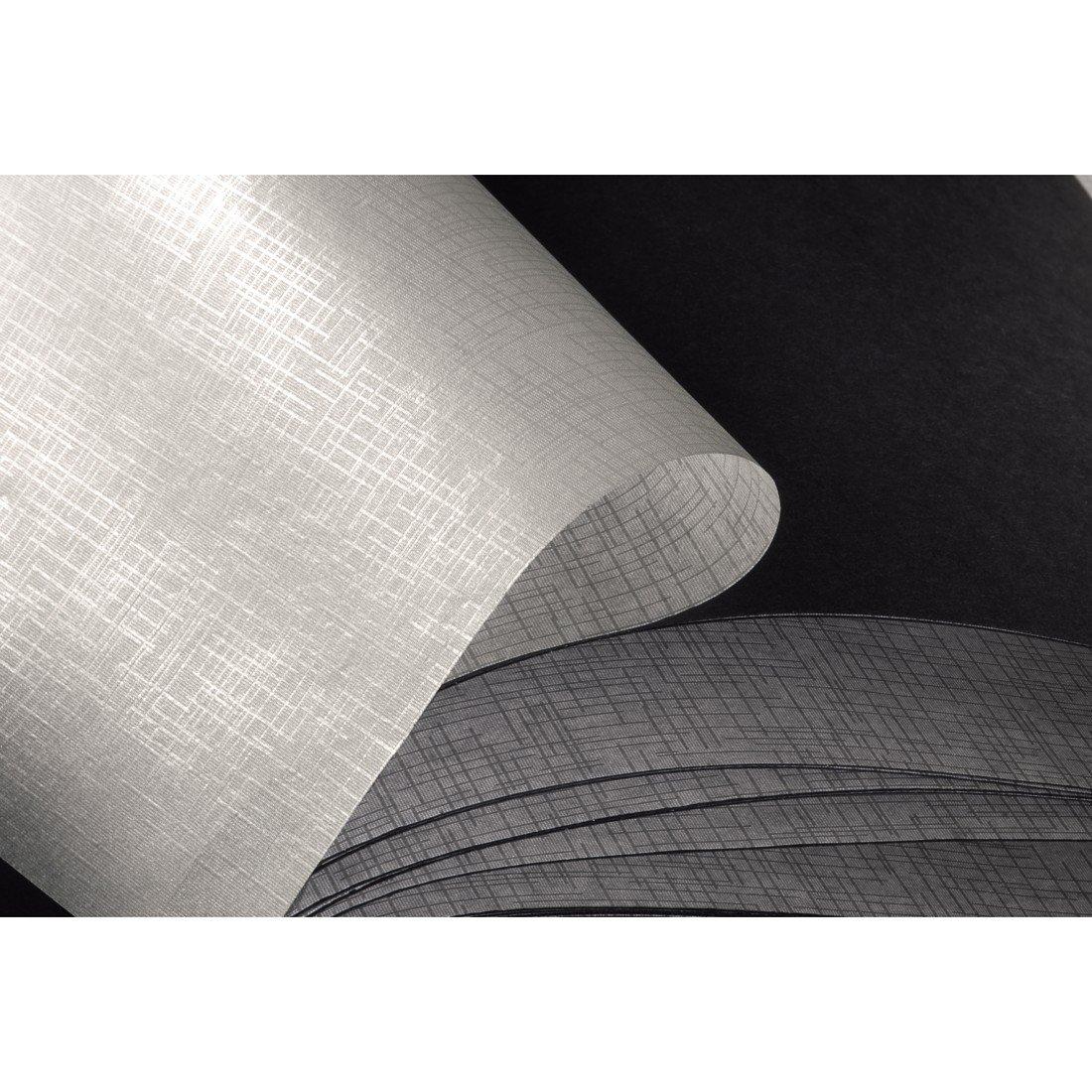 25 pages taupe//beige Album photo Fine Art album /à spirales 36 x 32 cm 10609 50 pages noires Hama avec d/écoupe pour y mettre une photo