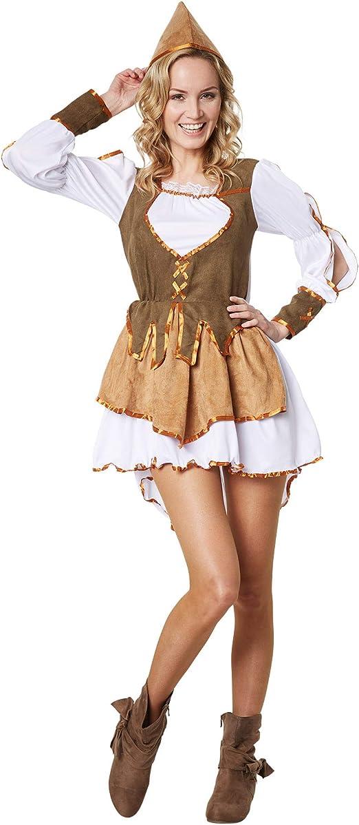 dressforfun 900560 Disfraz de Mujer Reina de los Ladrones, Disfraz ...