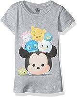 Disney Little Girls' Tsum Cap Sleeve T-Shirt