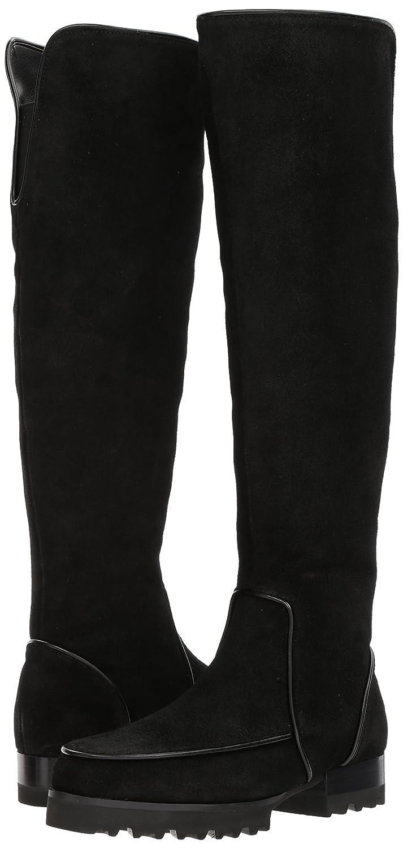 Donald J Pliner Women's Eva Fashion Boot B06Y2CKQKN 10 B(M) US Black Brushed Suede