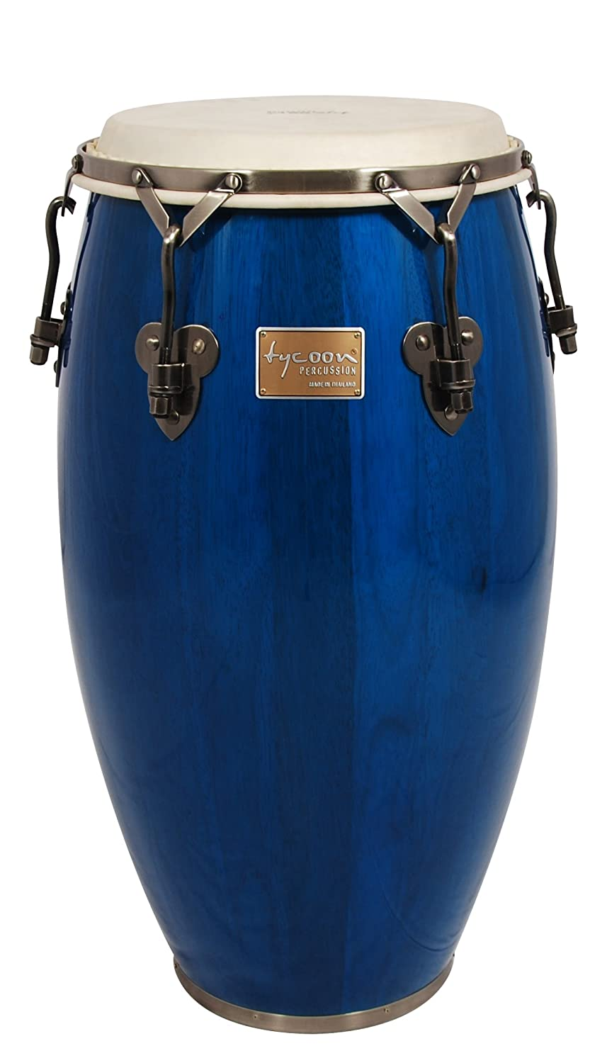 Tycoon Percussion 10 Inch Signature Classic Series Blue Requinto With Single Stand TSC-100 BC BL/S