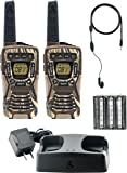 Cobra ACXT1035R FLT Camo 37-Mile Floating Two-Way Radio with Earbuds