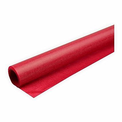 Transparentpapier 42g//m/² 1 Rolle rot 70x100cm Drachenpapier