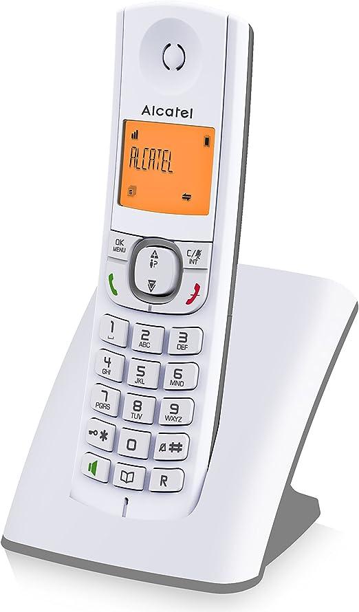 Teléfono Inalámbrico- Alcatel F530- Color Gris: Amazon.es: Electrónica