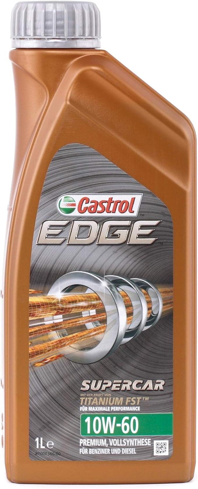 Castrol 1595cc Edge Supercar 10w 60 1l Auto