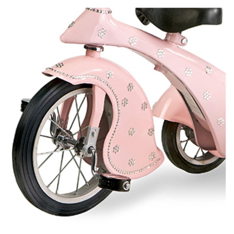 Amazon.com: Morgan Cycle Vintage Pink Crystal Retro Tricyle ...