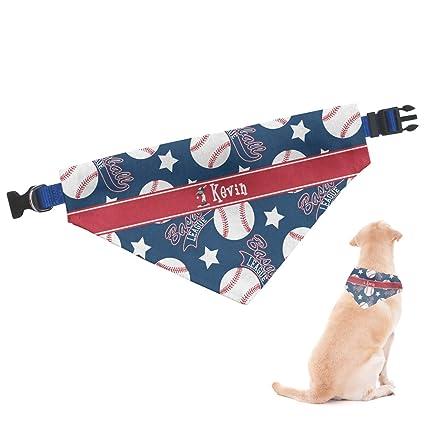 Amazon Com Rnk Shops Baseball Dog Bandana Large Personalized