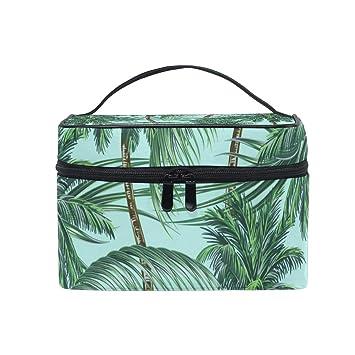 Amazon.com: Bolsa de aseo con diseño de hojas de árbol de ...