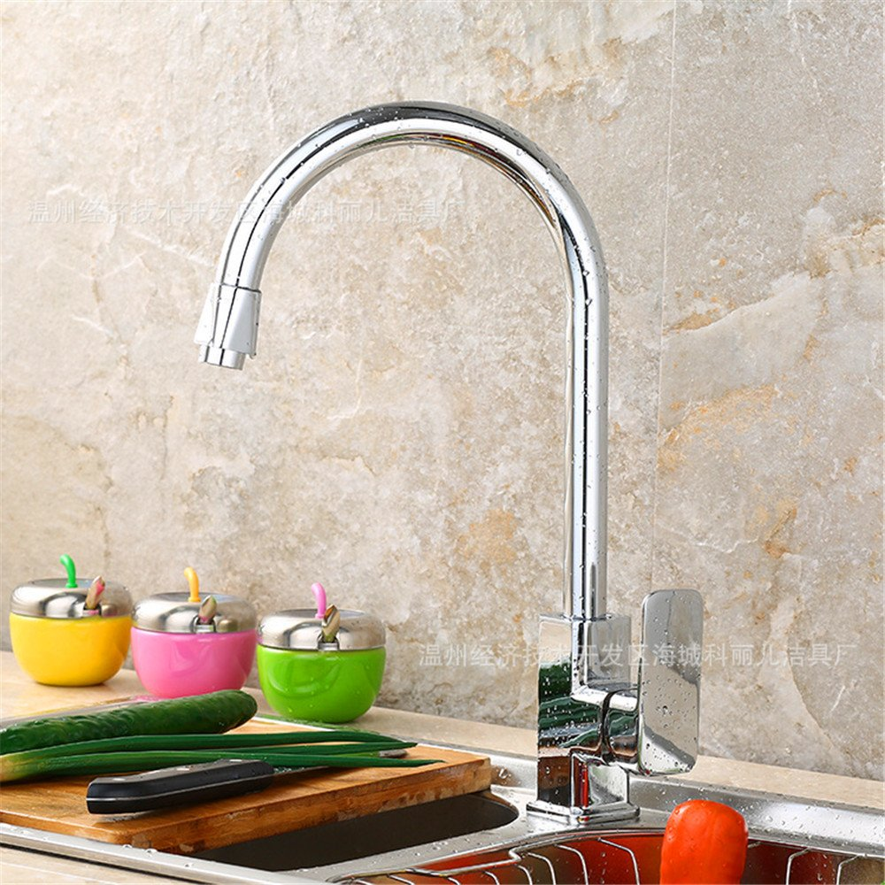 Hlluya Professional Sink Mixer Tap Kitchen Faucet Kitchen faucet dual control of hot and cold dishes and wash basin sink mixer 304 All-brass faucets kitchen sink faucets 4F70 dishes