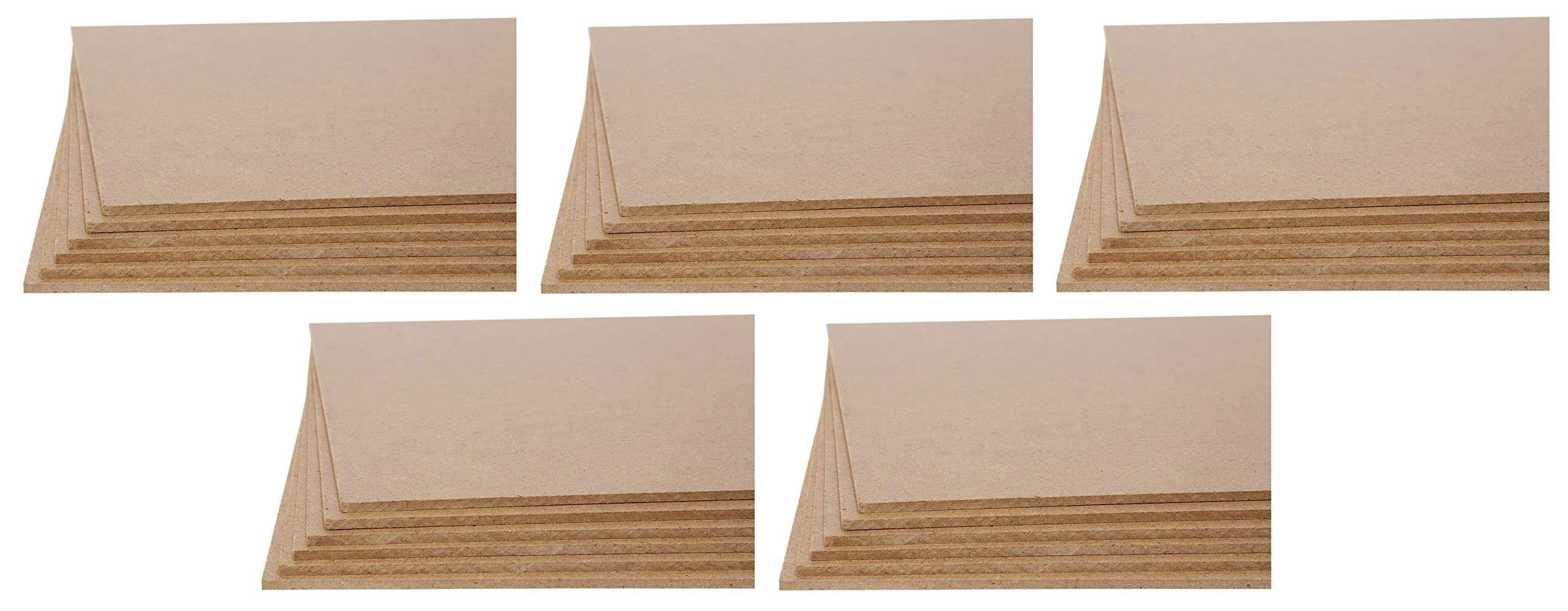 Jack Richeson Medium Density Untempered Hardboard(6 Pack), 11x14 (Вundlе оf Fіvе)