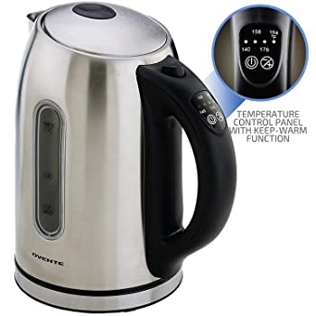 Ovente KS88S Electric Kettle For Coffee