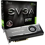 EVGA GeForce GTX 1070 Gaming, 8GB GDDR5, DX12 OSD Support (PXOC) Graphics Card 08G-P4-5170-KR