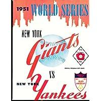 $20 » 1951 Giants vs Yankees World Series Program NM Opie Reprint