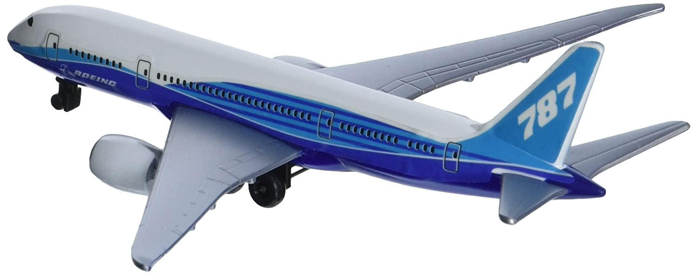 Daron (RT7474) Boeing 787 Dreamliner Single Plane, White and Blue