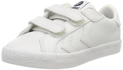 Hummel Deuce Court Infant, Zapatillas Unisex Niños, Blanco (White), 22 EU