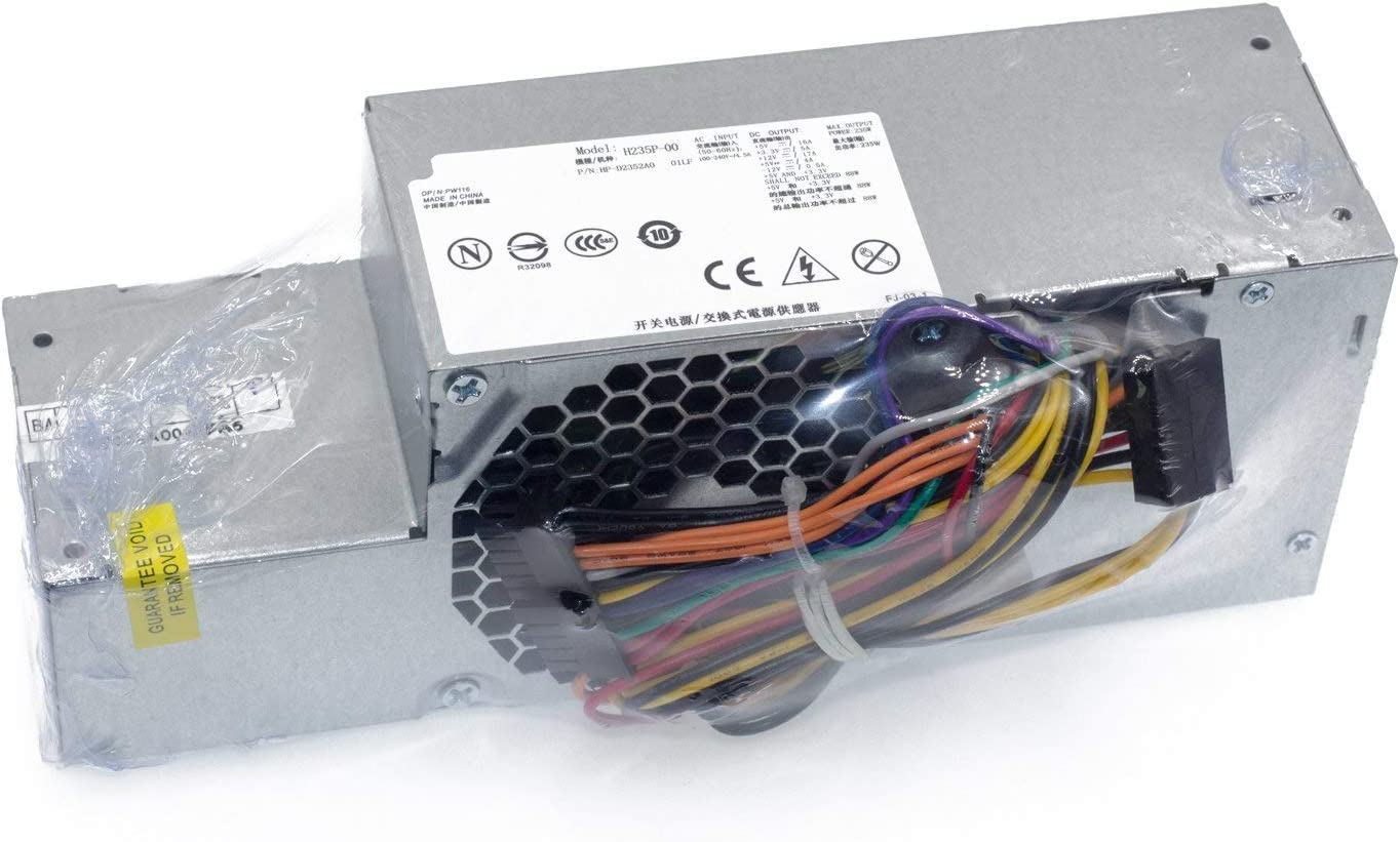 H235P-00 H235E-00 PW116 FR610 RM112 235W Power Supply for Dell Optiplex 580 760