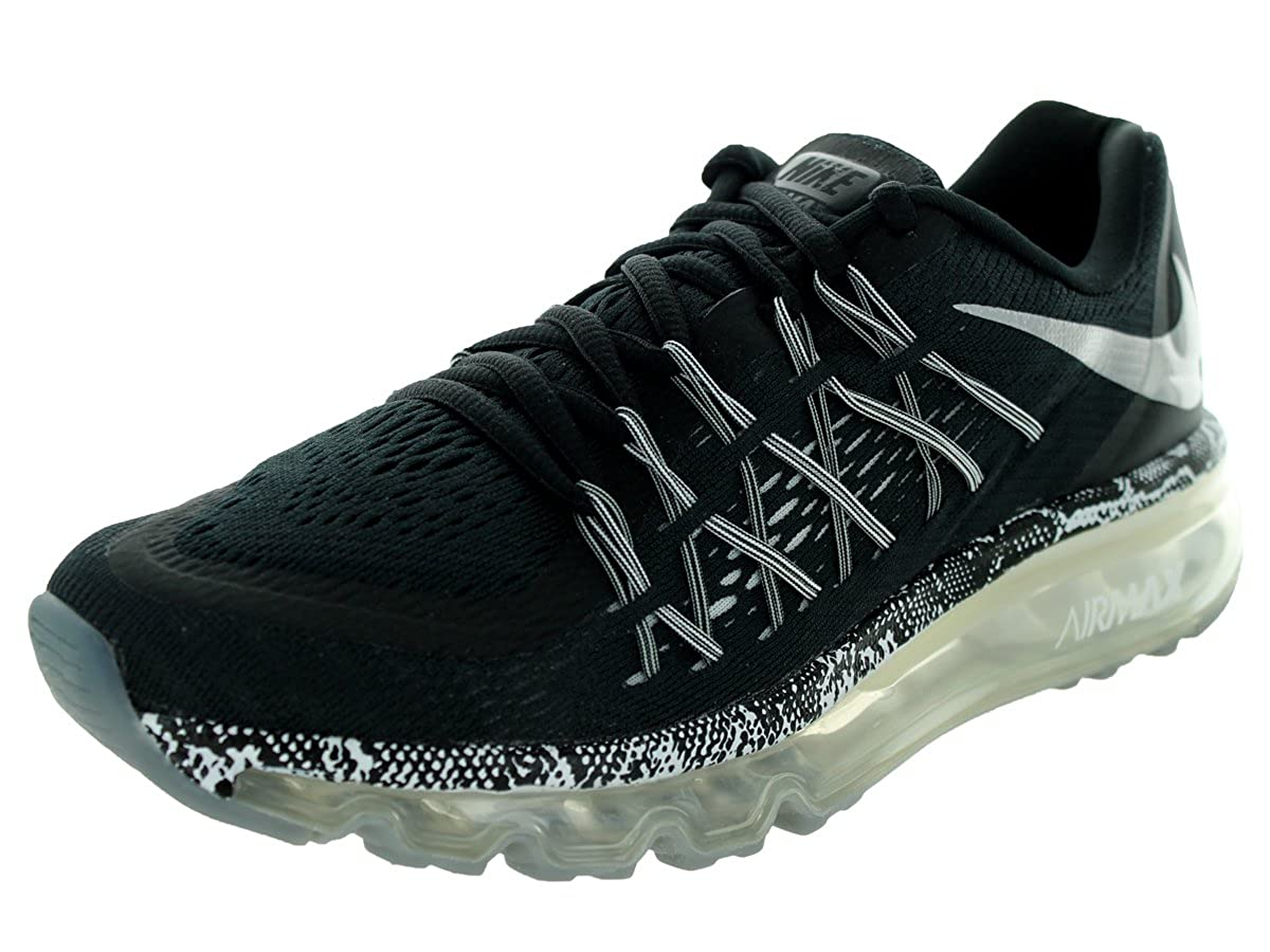 Nike Air Max 2015 (GS) Schuhe black metallic silver cool grey white 38