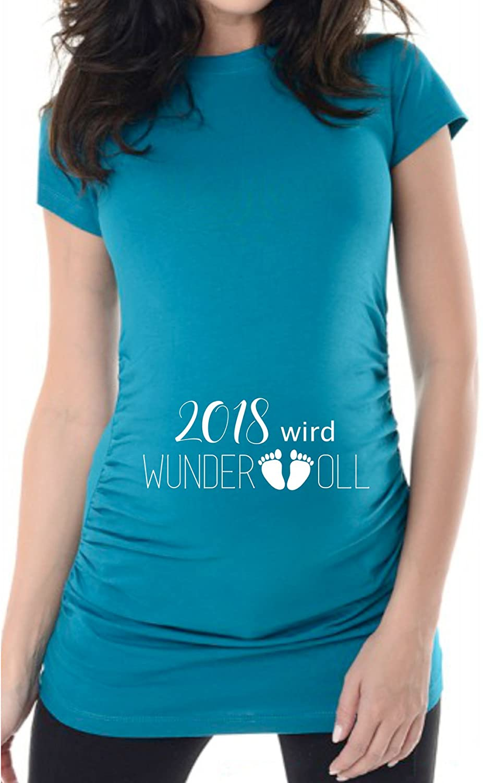 Super Auch als Geschenk zur Schwangerschaft liebevoll bellytime Umstands T-Shirt Mama 2018 Witzig Originell Umstandsshirt
