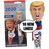 NEW Donald Trump 2020 Talking Pen, 10 NEW President Trump Sayings, Trump's Real Voice, Just Click & Listen, Funny Gifts For D