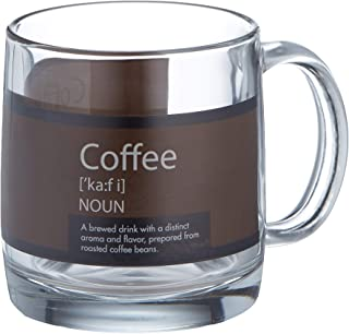 product image for Luminarc Arc International Nordic Mug with Coffee Definition (Set of 6), 13 oz, Clear