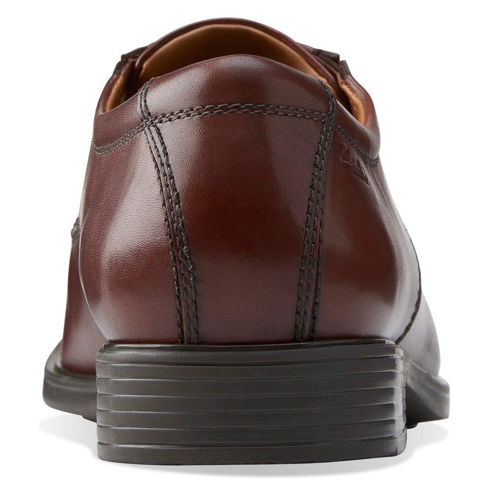 Clarks Men's Tilden Walk Oxford,Brown Leather,US 7.5 W