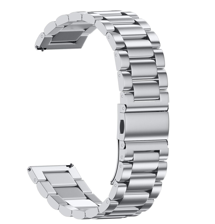 malla de metal plateada Huawei Watch/Whithings