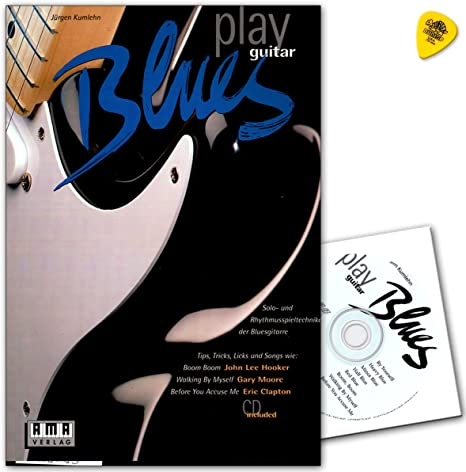 Play Blues Guitar – Solo de y ritmo parte técnicas de guitarra ...