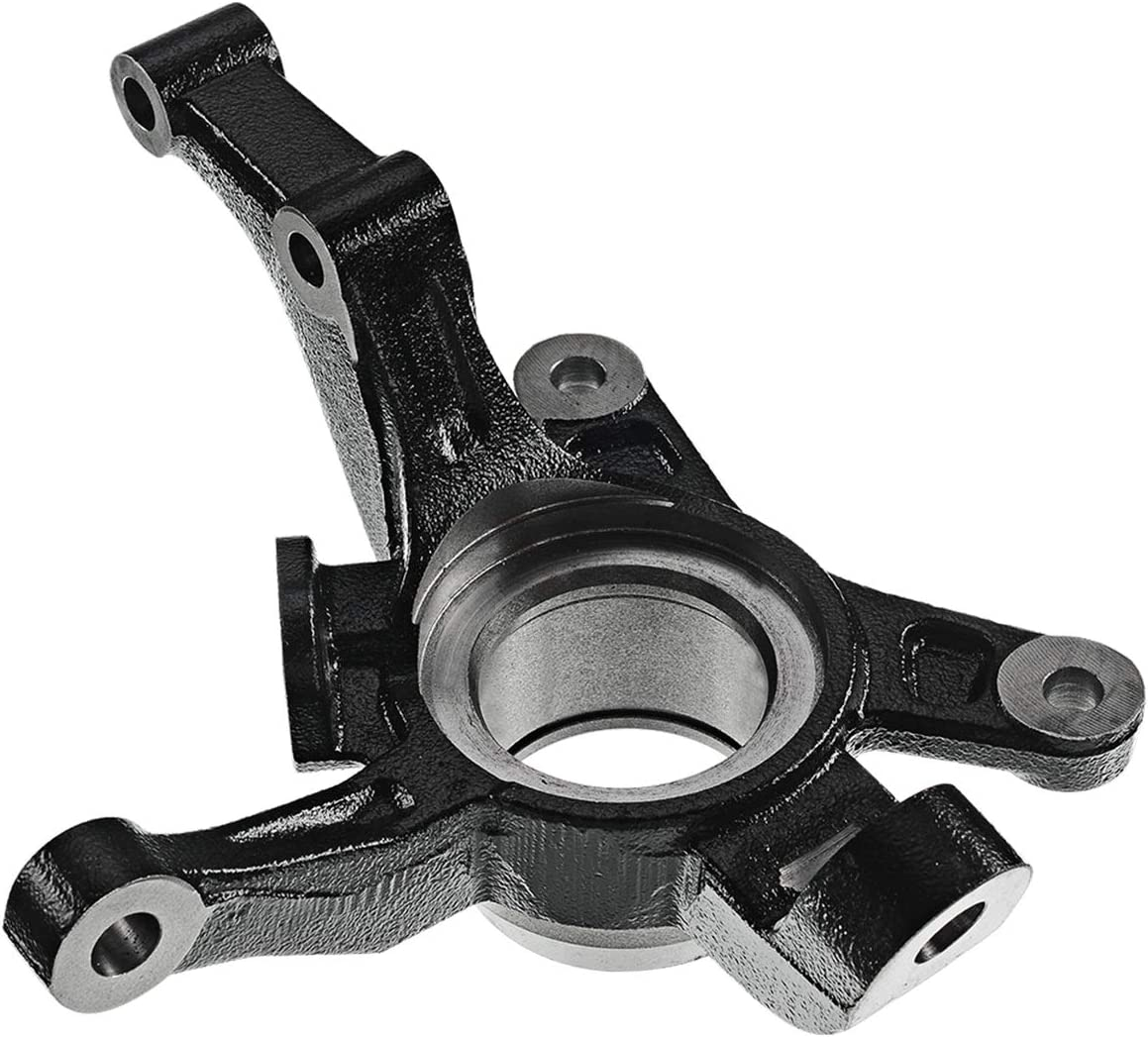 Front Left Driver Side Steering Knuckle Compatible with Chevrolet Aveo 2004-2011 Aveo5 2007-2011 Pontiac G3 2009-2010