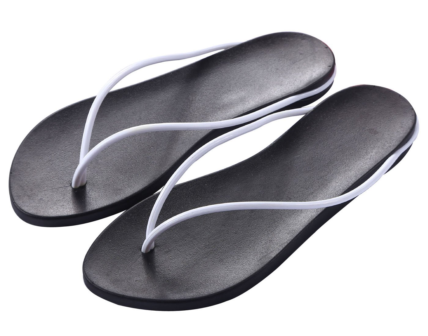 77f5c086452baf Zehentrenner Damen Slim Sandalen Schuhe Flats Thong Sandalen Sommer Schuhe  Strand Flip Flop Hausschuhe 37 EU