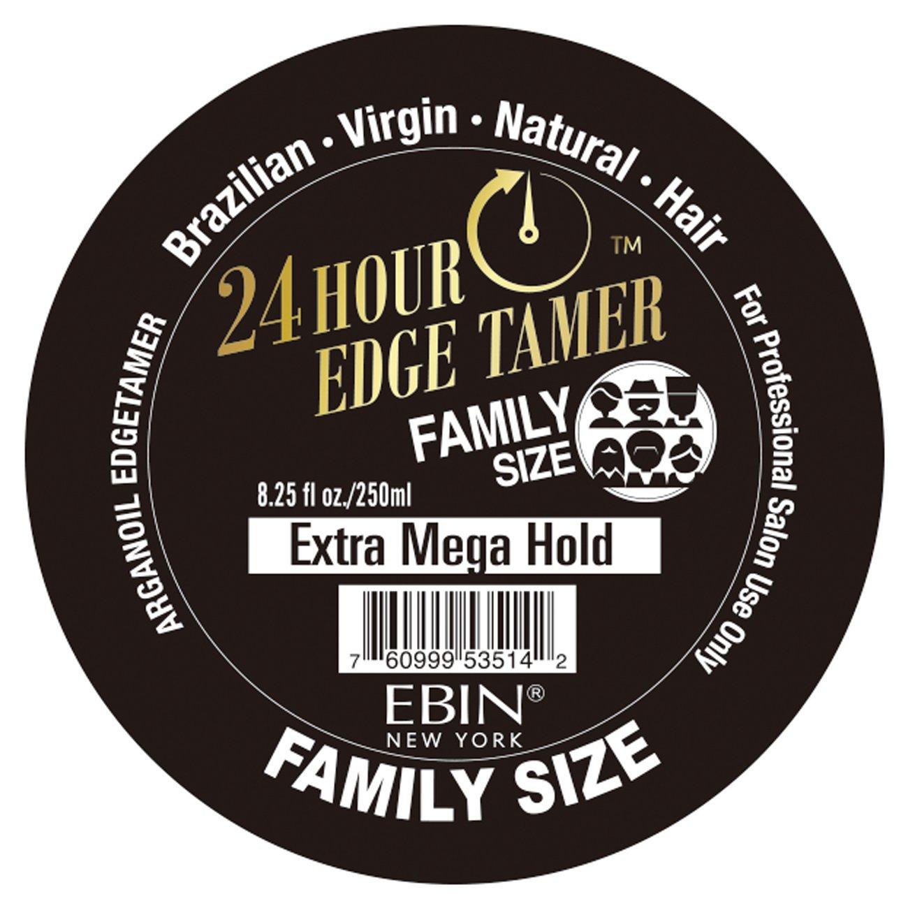 Ebin 24 Hour Edge Tamer Extra Mega Hold 8.25oz - Family Size